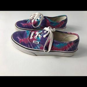 Vans Shoes - Tye-Dye Purple Blue Pink VANS